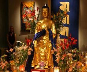 Bild von Buddha puzzle