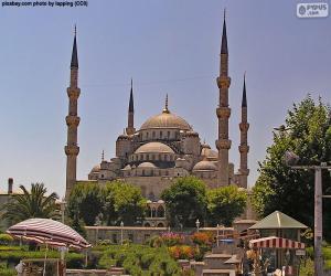 Blaue Moschee, Türkei puzzle