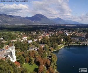 Bled, Slowenien puzzle