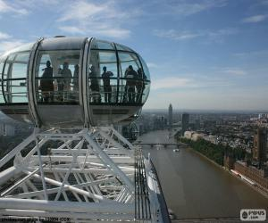 Blick vom London Eye puzzle
