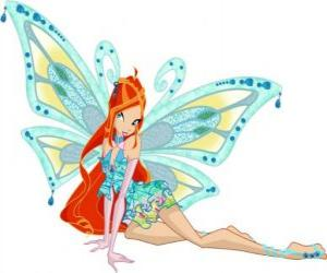 Bloom, die Prinzessin des planeten Domino puzzle