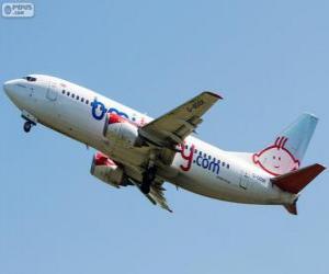 Bmibaby war eine britische Billigfluggesellschaft (2002-2012) puzzle