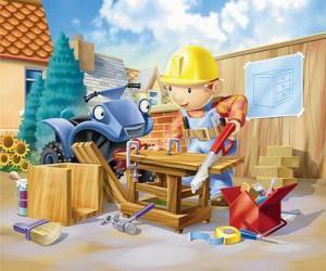 Bob arbeitete als Zimmermann puzzle