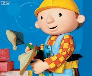 Bob der Baumeister arbeiten puzzle