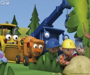 Bob der Baumeister und seine Freunde puzzle
