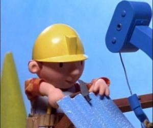 Bob trabajando  puzzle