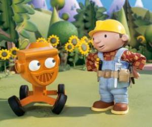 Bob und Mixi, sprechen puzzle