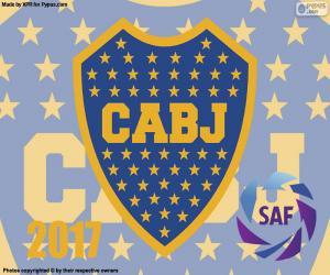 Boca Juniors, 2016-2017 Meister puzzle