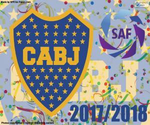 Boca Juniors, Superliga 2017-2018 puzzle