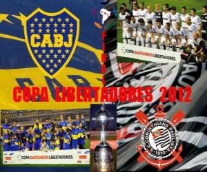 Boca Juniors vs. Corinthians. Copa Libertadores Finale 2012 puzzle