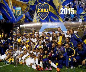 Boca, Meister der 1. Division 2015 puzzle