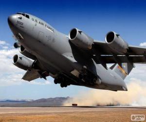 Boeing C 17 Globemaster III militärische Transportflugzeuge puzzle