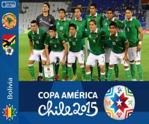 Bolivien Copa America 2015 puzzle
