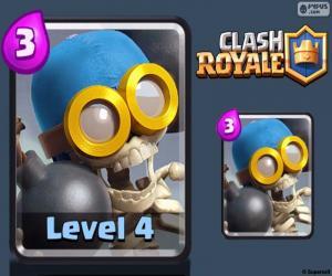 Bomber Clash Royale puzzle