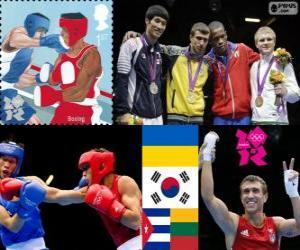 Boxen - 60kg männlich London 2012 puzzle