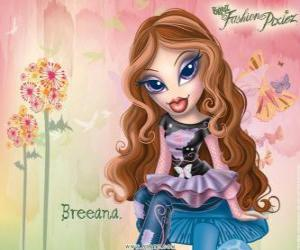 """Breeana ist ein schüchterner und einsam, heißt """"Haditha Mode"""" sie und ihre Familie sind Feen puzzle"""