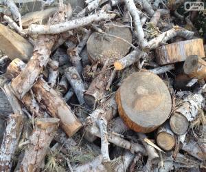 Brennholz puzzle