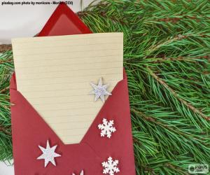 Brief an den Weihnachtsmann puzzle