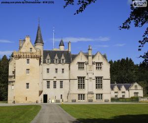 Brodie Castle, Schottland puzzle