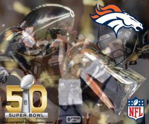 Broncos, Super-Bowl-2016-Meister puzzle
