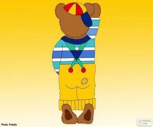 Buchstabe I des Bären puzzle