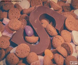 Buchstabe S Schokolade puzzle