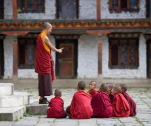 Buddhistische Lehrer puzzle