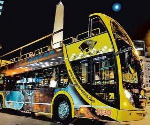 Buenos Aires Touristenbus puzzle