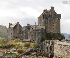 Burg Eilean Donan, Schottland puzzle