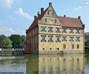 Burg Hülshoff, Deutschland puzzle