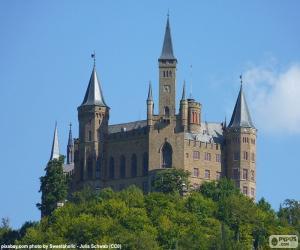 Burg Hohenzollern, Deutschland puzzle