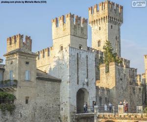 Burg Scaligero, Italien puzzle