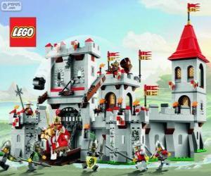 Burg von Lego puzzle