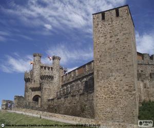 Burg von Ponferrada, Spanien puzzle