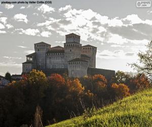 Burg von Torrechiara, Italien puzzle