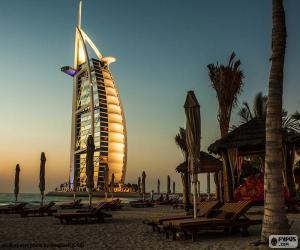 Burj Al Arab Jumeirah, Dubai puzzle
