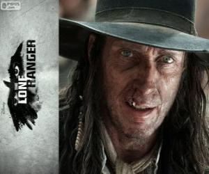Butch Cavendish (William Fitchner) in dem Film Lone Ranger puzzle
