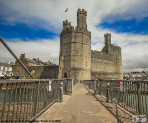 Caernarfon Castle, Wales puzzle