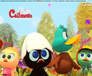 Calimero mit Freunden puzzle