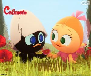 Calimero und Priscilla puzzle