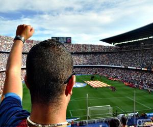 Camp Nou, Barcelona puzzle