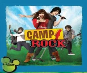 Camp Rock puzzle