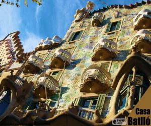 Casa Batlló, Barcelona puzzle