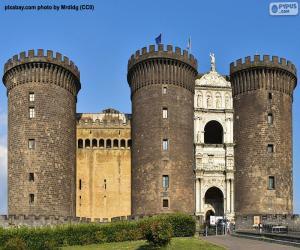 Castel Nuovo, Italien puzzle