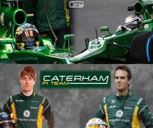 Caterham F1 Team 2013 puzzle