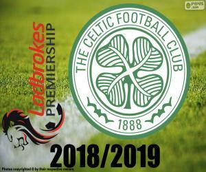 Celtic FC, 2018-2019 champion puzzle