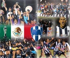 CF Monterrey Torneo Apertura 2010 Champion puzzle