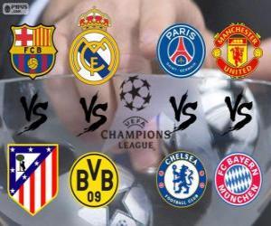 Champions League - UEFA Champions League 2013-14 Viertelfinale puzzle