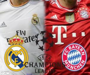Champions League - UEFA Champions League Halbfinale 2013-14, Real Madrid - Bayern puzzle
