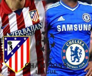 Champions League - UEFA Champions League Halbfinale 2013-14, Atlético - Chelsea puzzle